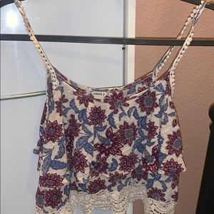 Floral Crop top from Forever 21 !